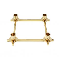 candlestand in brass